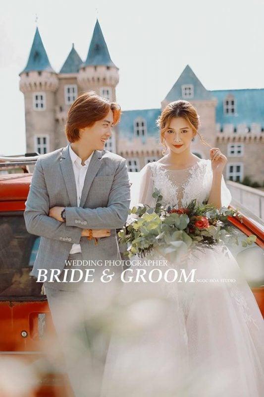 Chụp ảnh cưới Phim Trường Paris