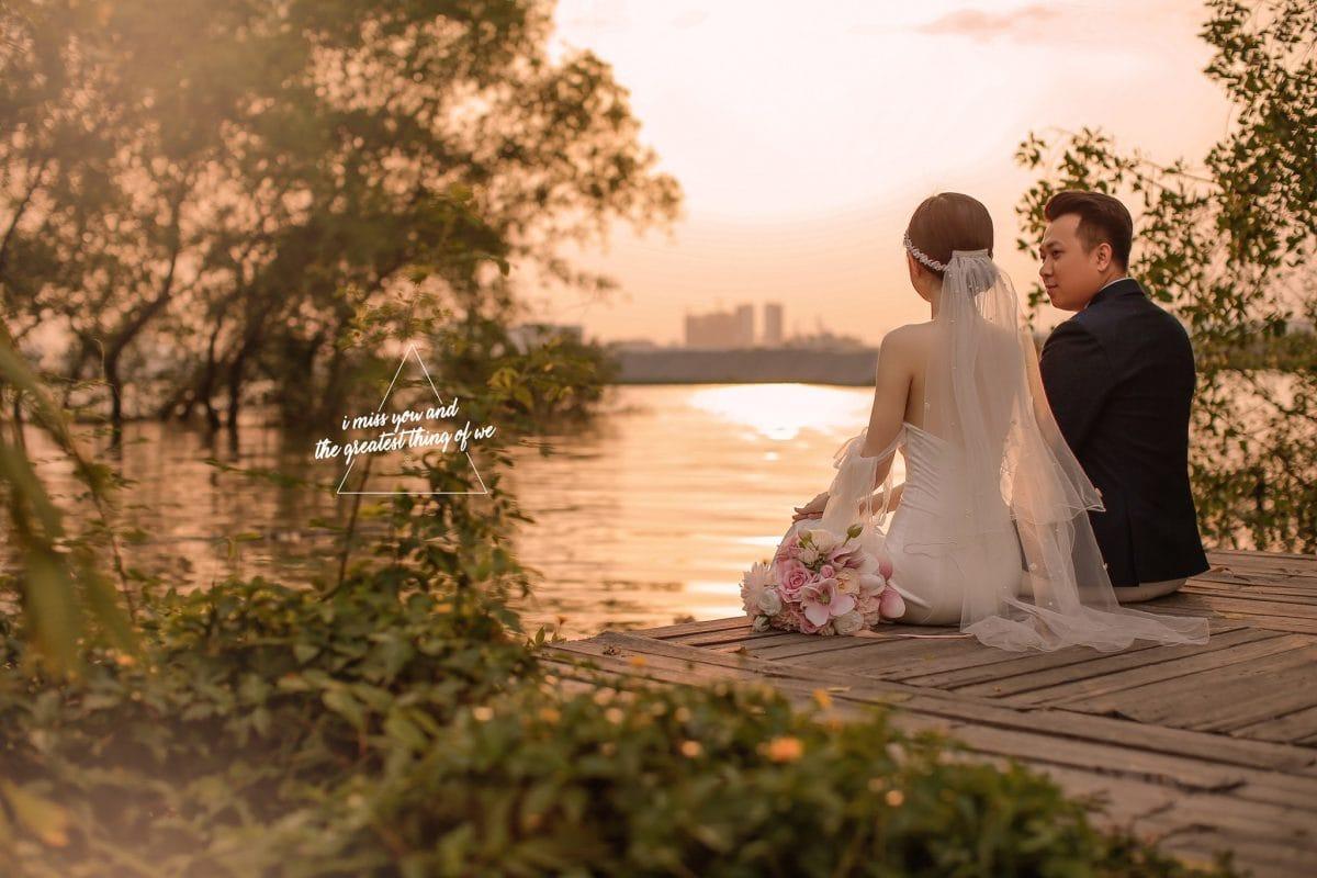 chụp ảnh cưới phim trường lamour